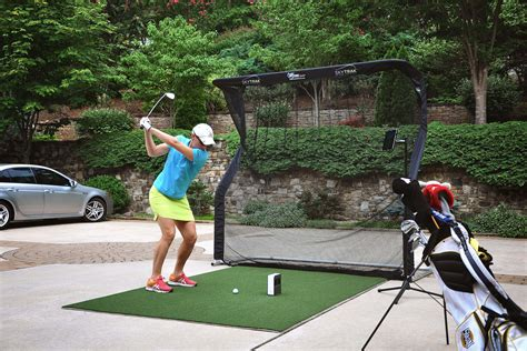 Golf Swing Simulator by Skytrak Launch Monitor Golf Simulator Golf Swing Systems