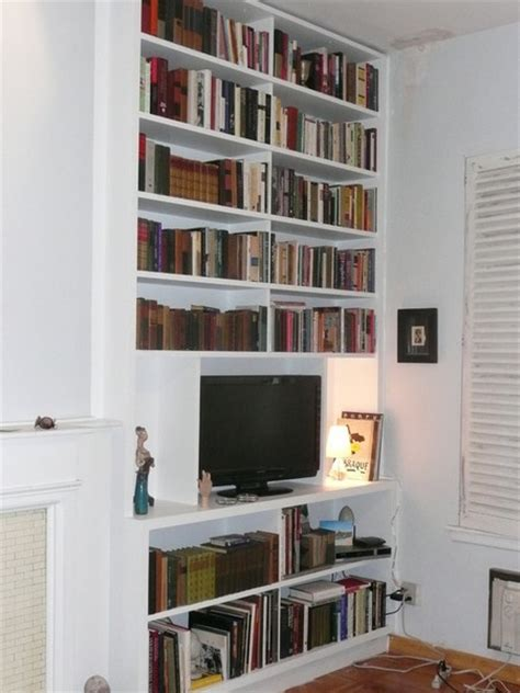 Kitchen Cabinets Brooklyn Ny nyc custom built in fireplace bookcases bookshelves wall