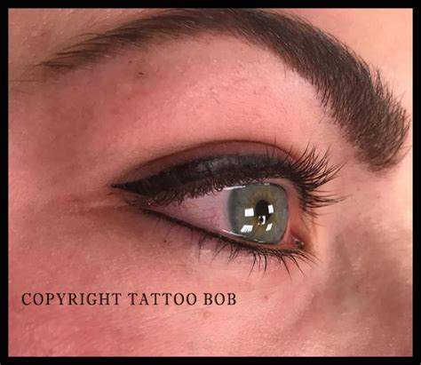 eyeliner tattoo not staying eyeliner tatoe 235 ren l permanente make up
