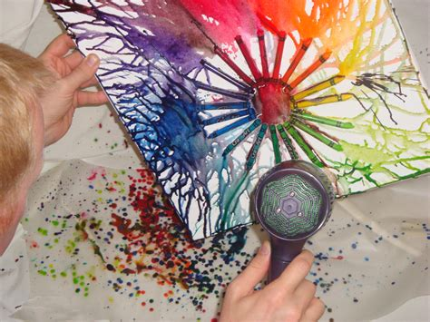 Wax Paper Craft Ideas - awesome crayon rants of a childless