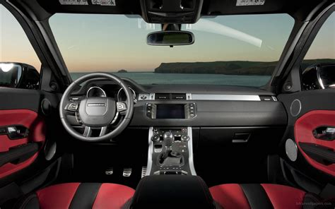 range rover car interior range rover evoque 5 door interior wallpaper hd car