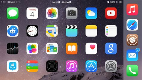 iphone icons how to add a fifth icon to the iphone dock in ios 8 and iphone 6 iphone 6 plus with