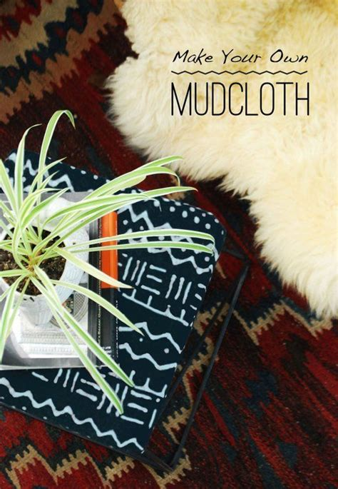 how to make your a therapy decor hacks diy to try how to make your own mudcloth apartment therapy tutorial