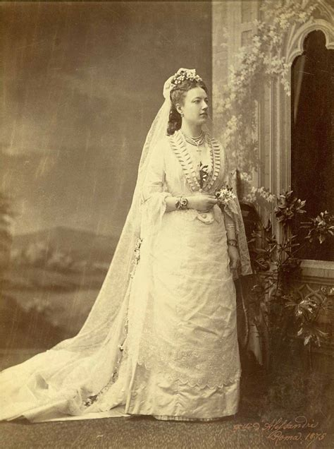 Wedding Dresses Of The 1870s   Lily Absinthe