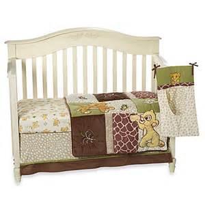 Buy disney baby 174 lion king go wild 4 piece crib bedding set from bed