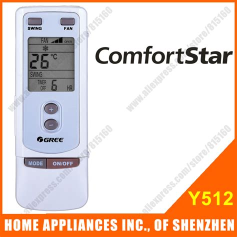 comfort star air conditioner remote control comfortstar split portable air conditioner remote