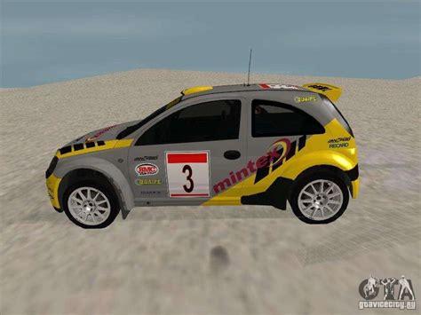 opel rally car opel rally car para gta san andreas