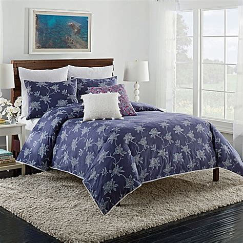 cupcakes and cashmere bedroom cupcakes and cashmere sketch floral duvet cover in blue
