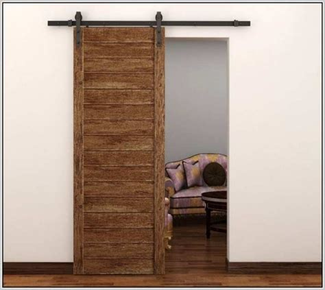 Decorate with Barn Door Home Depot   All Design Doors & Ideas