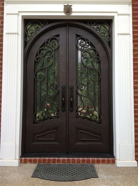 Wrought Iron Exterior Door Why Choose Wrought Iron Doors For Their Home Mybktouch