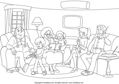 preschool coloring pages about families new 882 family coloring worksheets for kindergarten