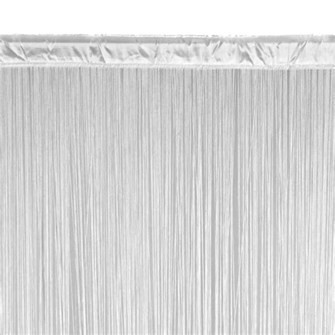 curtain strings string curtain silver fringe curtain event d 233 cor direct