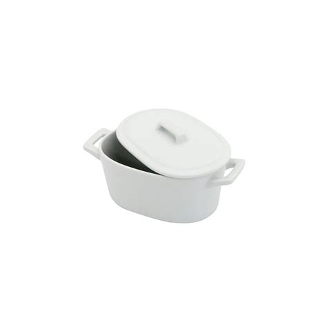 Ramekin Keramik 6 5cm Ramequin Ceramik Bowl white ceramic cocotte pot dishes oven table small bowls serving ramekin with lid