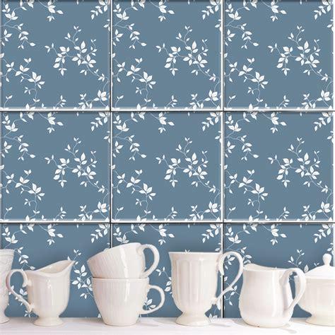 Greta Set greta blau fliesenaufkleber set wand akzente