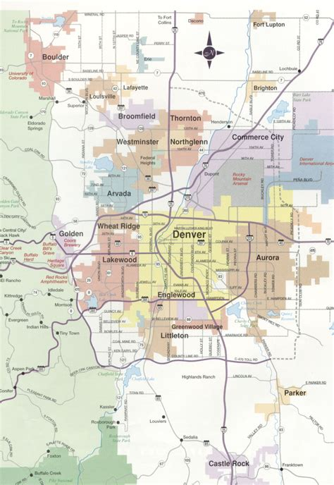 zip code map denver zip code map denver metro area memes