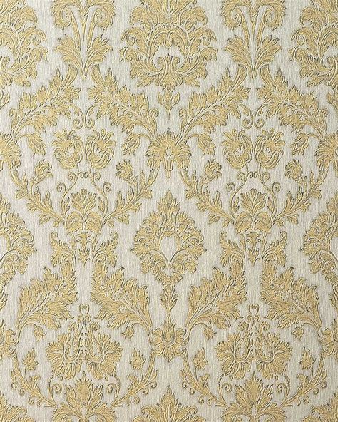 gold wallpaper designs uk edem 708 30 papier peint baroque de couleur chagne or