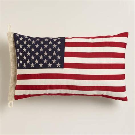 Flag Pillows by American Flag Lumbar Pillow World Market