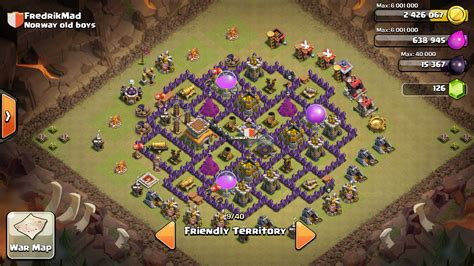 town hall 8 war base clash of clans town hall 8 war base