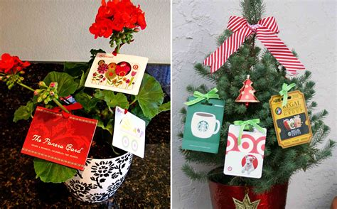 Gift Card Gift Ideas - the best gift card tree and gift card wreaths ever gcg