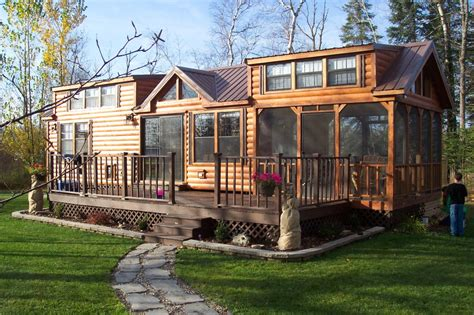 Log Cabin Rv Park Models by This Is Wonderful Park Model Trailers Midwest Park