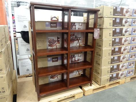Costco Bookcase bayside furnishings belmar open bookcase