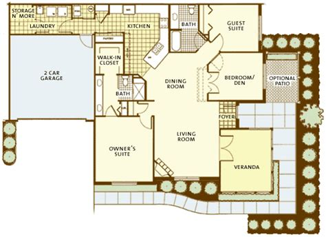 epcon canterbury floor plan villas at fox run floor plans colleen dahlstrom