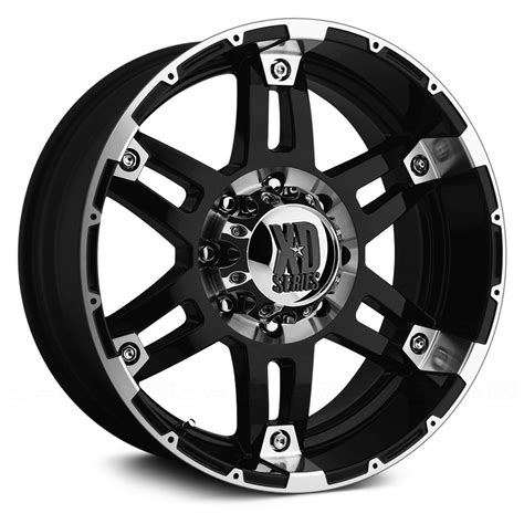 xd series wheels xd series 174 wheels gloss black with machined lip and