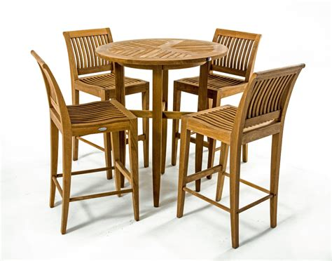 teak wood bar stools laguna teak bar stool and table set westminster teak