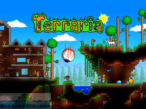 terraria version apk terraria free android version