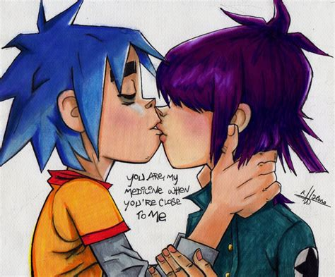 Gorillaz X Size L gorillaz noodle and 2d www imgkid the image kid has it