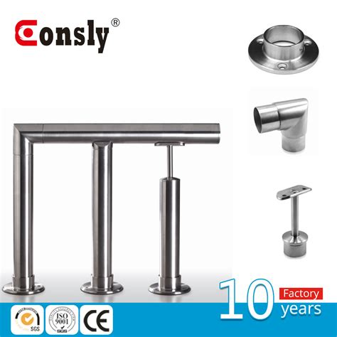 banister fittings top sale stainless steel stair handrail fittings