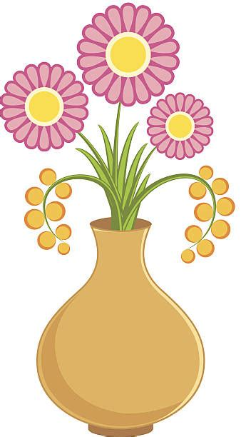 Flowers In A Vase Clipart by Flower Vase Clipart Dothuytinh