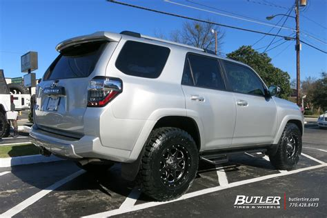 Toyota 4runner Rims Toyota 4runner With 17in Fuel Boost Wheels Exclusively