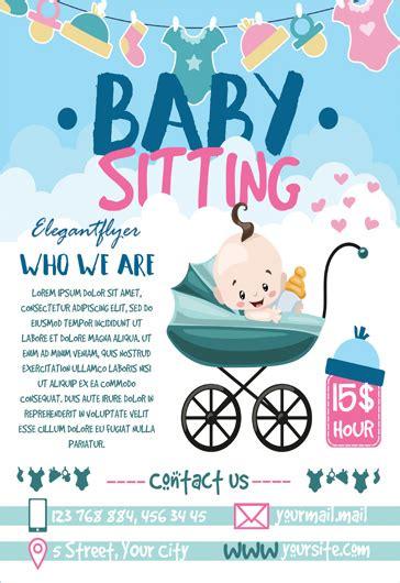 11 best babysitting flyers images on pinterest babysitting flyers