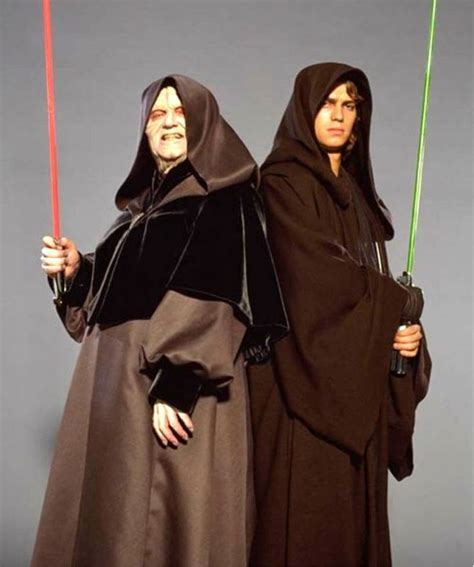 the best of palpatine and other sw impressions red palpatine and anakin skywalker star wars jedi and