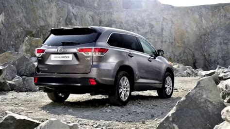 Toyota Highlander 2014 Dimensions 2014 Toyota Highlander Iii Pictures Information And