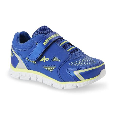 boys athletic shoes athletech toddler boy s sprint blue green athletic shoe