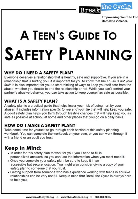 domestic violence safety plan template printables domestic violence safety plan worksheet