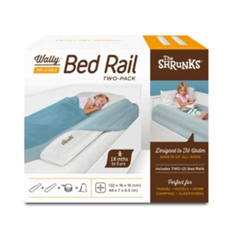 inflatable bed rail the shrunks inflatable bed rail 2 pack