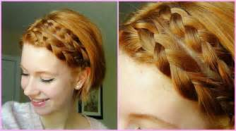 This style make a side parting and do two french braids on the front