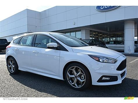ford car colors 2017 oxford white ford focus st hatch 118434702
