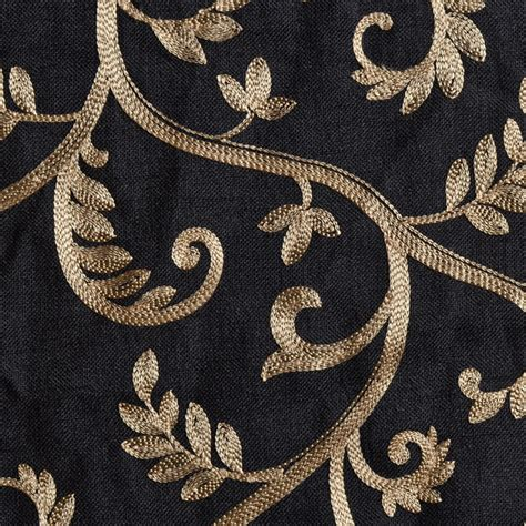 black and gold curtain fabric macire scarf swag window topper bestwindowtreatments com