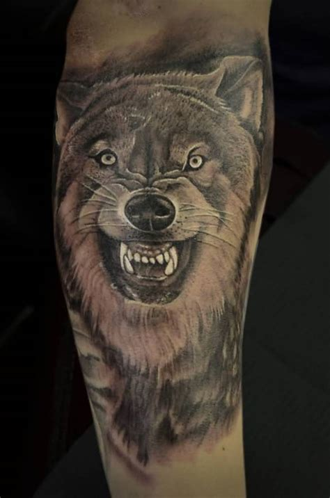 wolf face tattoo wolf designs www imgkid the image kid