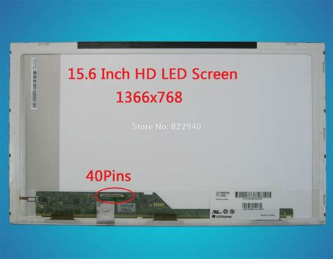 Engsel Lcd Leptop Toshiba C640d 15 6 quot laptop display for toshiba satellite l500d 00x l500