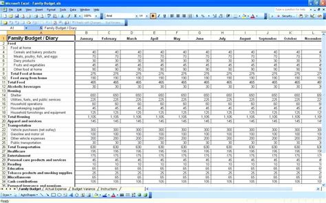 monthly outgoings spreadsheet template google spreadshee