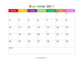 september 2017 calendar cute calendar printable free