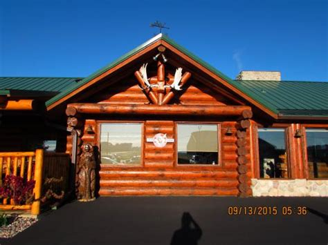 Cabin Restaurants by Inside The Restaurant Picture Of Log Cabin Family Restaurant Baraboo Tripadvisor