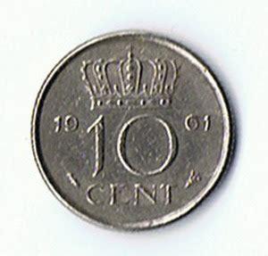 koin kuno langka coin juliana koningin der nederlanden 1961 10 cents