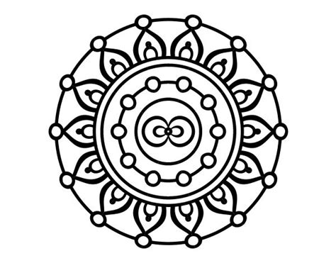 mandala meditation coloring book die besten 25 imagenes de mandalas faciles ideen auf