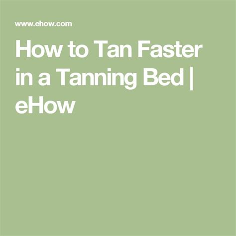 best 25 how to tan faster ideas on pinterest fit body